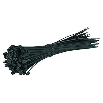 1c39e94ab47c 100 Pack of Black Cable Ties - 200mm x 4.8mm Tie Wraps - High Quality  Strong Nylon Zip Ties by Gocableties: Amazon.co.uk: DIY & Tools