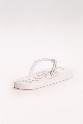Best Ever BESTDAYFF David's Silver Flip Day Flops Style Bridal 5tq71