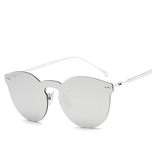 ojos sin Chao Unidos general el sol hombre Europa sol personalidad y clavo gafas C marco siamés gafas Estados sol de los Gafas Aoligei señora qwAPX8X