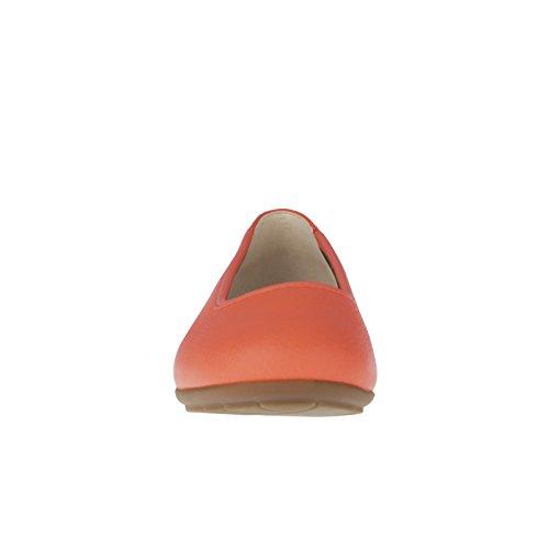 Tessamino Dame Ballerina Aus Hirschleder | Tessamino Damer Ballerina Fra Rådyr Skjuler | Elegant | Elegant | Weite H | Bred H | Für Einlagen Orange Til Deponering-orange YRtG45SAXV