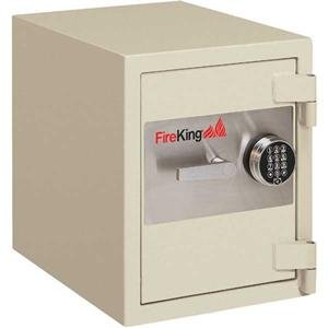Fire King Burglary Fire Safes - FireKing 1 Hour Fire and Burglary Proof Record Safe FB1612-1