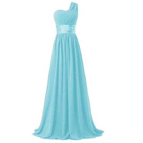 light blue dress prom - 6