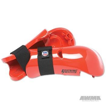 - Pro Force Lightning Punches Karate Sparring Gloves - Red - Large