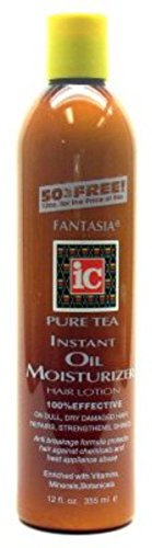 Fantasia Pure Tea Instant Oil Moisturizer, 12 oz (Pack of 4)