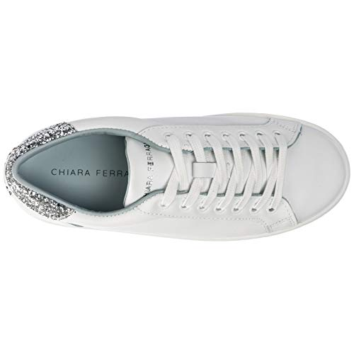 Silver silver Femme Ferragni Chiara White White Basket Logomania awfaZqP