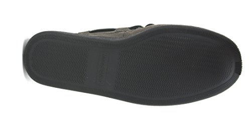 Minnetonka Mens Pile Lined Hardsole Slipper Grey P8Mbnu5tAv