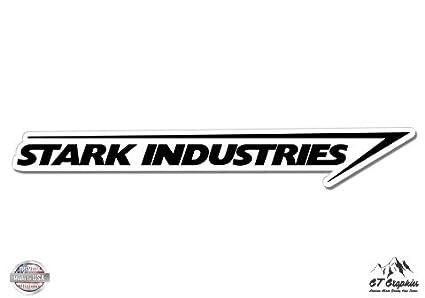 Amazoncom Stark Industries Vinyl Sticker Waterproof Decal - Vinylboden für industrie