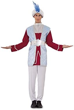 Disfraz de Rajá o Paje para hombre talla M-L: Amazon.es: Juguetes ...