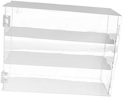 backbayia caja vitrina de tienda venta AU détail muñeca vitrina caja DIY bandeja para figuras, joyas, maqueta Talla:24x7x33cm: Amazon.es: Bebé