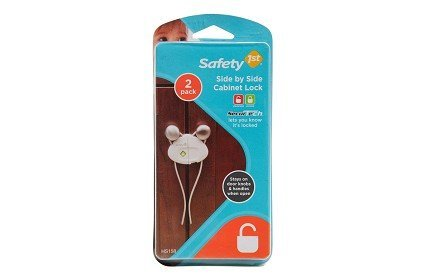 (Safety 1st 6 Pack Side by Side Cabinet Lock )