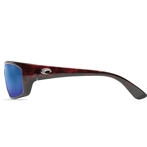 Costa Del Mar Men's Jose Sunglasses (Tortoise,Blue - Jose Blue