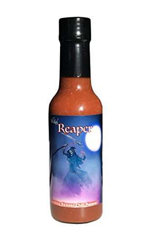(Carolina Reaper Hot Sauce Wicked Reaper With 6 Chili Peppers World's Hottest Peppers)