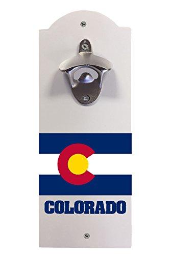 Colorado State Flag Souvenir Wall Mounted Bottle ()