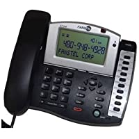 2 Line Amplified Speakerphone One Touch Call Forwarding 4 Programmable Memory Buttons by Fans-Tel