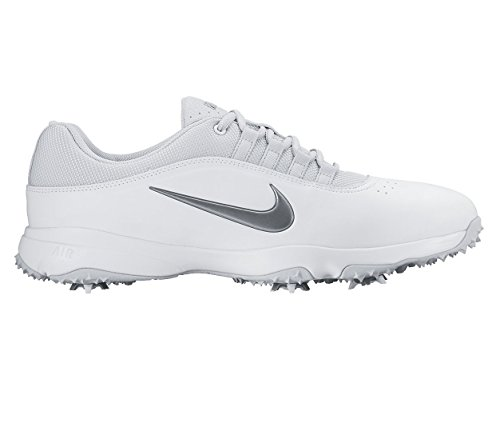 Nike 818729-10011.5 Air Rival 4 Wide Golf Shoes, White & ...