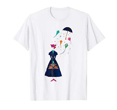 Disney Mary Poppins Umbrella T-shirt