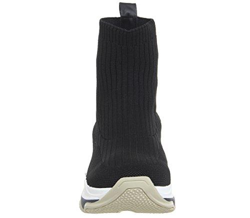 Black Super Fornarina Fornarina Knit Super Sneakers 8qXEEx