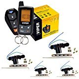 Viper 5305V 4 Door Locks 2 Way Car Alarm Keyless Entry Remorte Start System (Viper Responder 350 2 Way Security System)