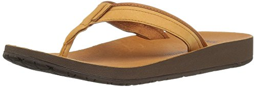 Teva Leather Flops Flip (Teva Men's M Azure Flip Sandal)