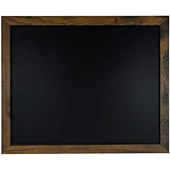 Rustic Framed Premium Surface Magnetic Chalk Board- 18