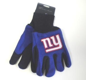 Wincraft NFL New York Giants Kids Two Tone Gloves ()