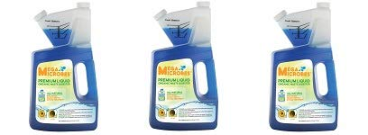 MegaMicrobes MML-5GL MML-64FL No-Mixing Liquid Drain, Septic, Trap and Pump Treatment, 64-Ounce Bottle (3-(Pack))