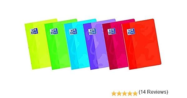 Oxford Classic 100105709 - Pack de 10 libretas grapadas de tapa blanda, A5+: Amazon.es: Oficina y papelería