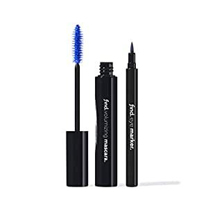 FIND - Mood Blue (Máscara de volumen azul + Delineador de ojos en rotulador azul) | DeHippies.com