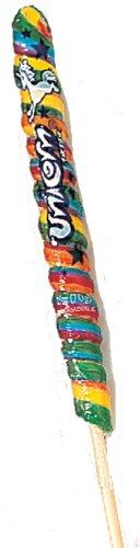 ADAMS & BROOKS, INC Unicorn Pops, Rainbow (18 Inch), 2.5-Ounce Boxes (Pack of 36)
