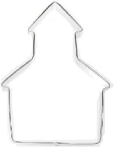 School House Church 5.75'' Cookie Cutter Haunted House ()