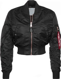 Ma Industries Femme copper Alpha Black Veste Cropped Wmn 1 Pm 6vgqFFxw