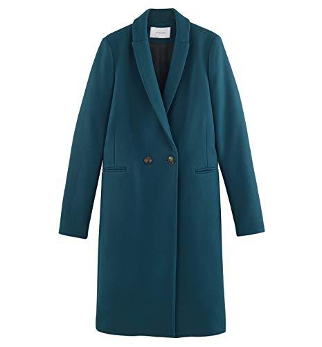MANTECO Manteau Canard en Promod laine Femme Bleu 6Fqgw7xH