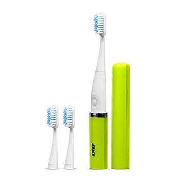 Hauggen1 Seago Ergonimic Diseño Antideslizante Adulto Sonic Cepillo de Dientes eléctrico Portátil a Prueba de Agua Limpieza Profunda Cepillos de Dientes: ...
