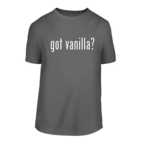 got vanilla? - A Nice Men's Short Sleeve T-Shirt Shirt, Grey, Large