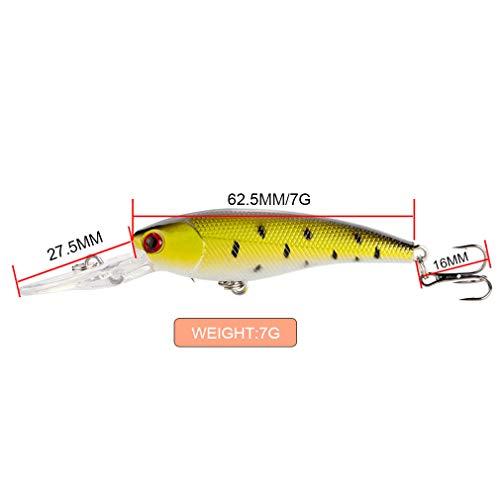Nafanio Fishing Lure Set Wobbler 9cm/7g Swimbait 10pcs/lot Hard Baits