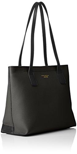 Shopping piccola in pelle nero - Ingrana