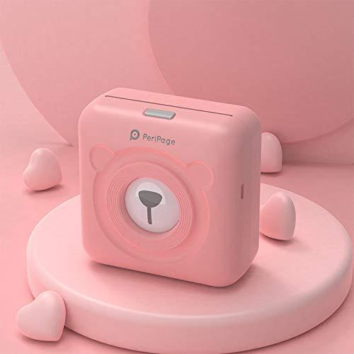 wudidianzi A6 Lindo Mini Bluetooth Portátil Impresora de Fotos de ...