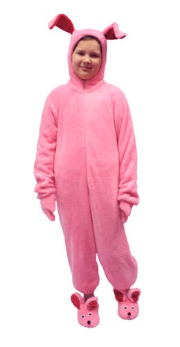 016c76b0d7 Amazon.com  A Christmas Story Deluxe Bunny Suit Pajamas from Aunt Clara   Clothing