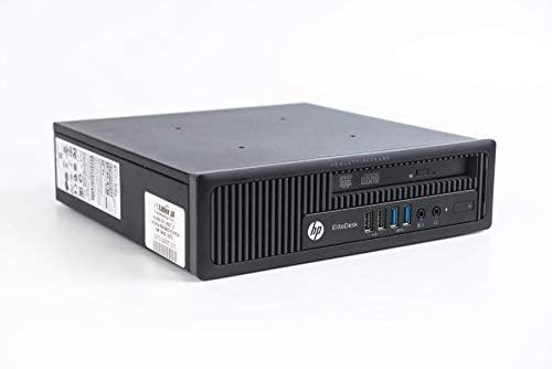 HP EliteDesk 800 G1 Ultra Small Form Desktop PC, Intel Quad Core i5-4590S up to 3.7GHz, 8G DDR3, 512G SSD, WiFi, BT 4.0, Windows 10 64 Bit-Multi-Language Supports English/Spanish/French(Renewed)