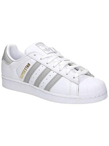 Ginnastica da Ftwr White Grey Two White F17 F17 Donna White W Scarpe Superstar Two Grey Ftwr Bianco Ftwr adidas Ftwr White ICqwAF