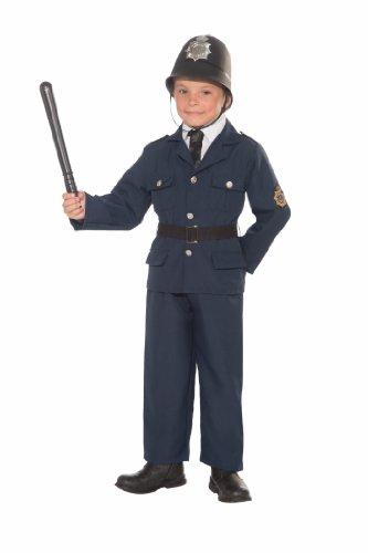 Forum Novelties British Bobbie Police Officer Child's Costume, Small