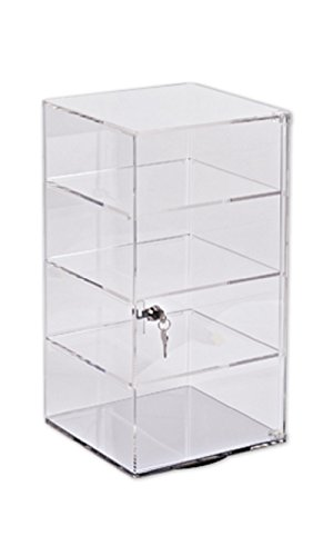 4-Shelf Acrylic Rotating Tower Display by STORE001