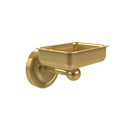 - Allied Brass R-WG2-PB Regal Collection Wall Mounted Soap Dish, Polished Brass