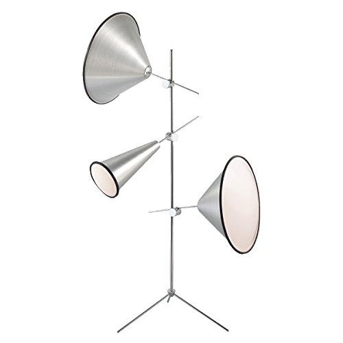Eurofase 22977-014 Manera 3-Light Floor Lamp, - Contemporary Lighting Floor Eurofase Lamp