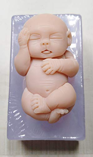 "Mold for Baby Tate 3"" Soft Silicone Mold for Fondant, Polymer Clay from Laurel Arts"