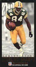 Sterling Sharpe Green - 1993 Fleer NFL Gameday Gamebreakers Sterling Sharpe #13 Green Bay Packers Insert Football Card