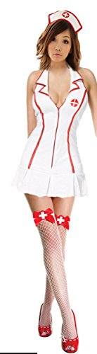 Sexy Nurse Costume - White - Small]()