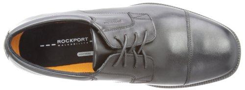 RockportEssential Detail Waterproof Captoe - derby cordones hombre Negro