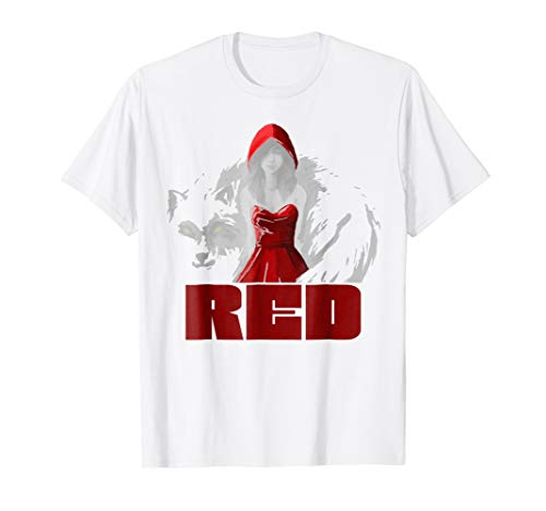 Red Hood Riding T-Shirt Amazing Halloween Costume Idea for $<!--$22.00-->