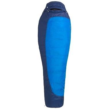 Marmot Trestles 15 Synthetic Sleeping Bag, Regular-Left, Blue